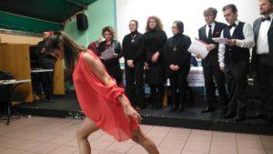 L'esibizione musical-tersicorea de La Rosa il Violino dello scorso anno