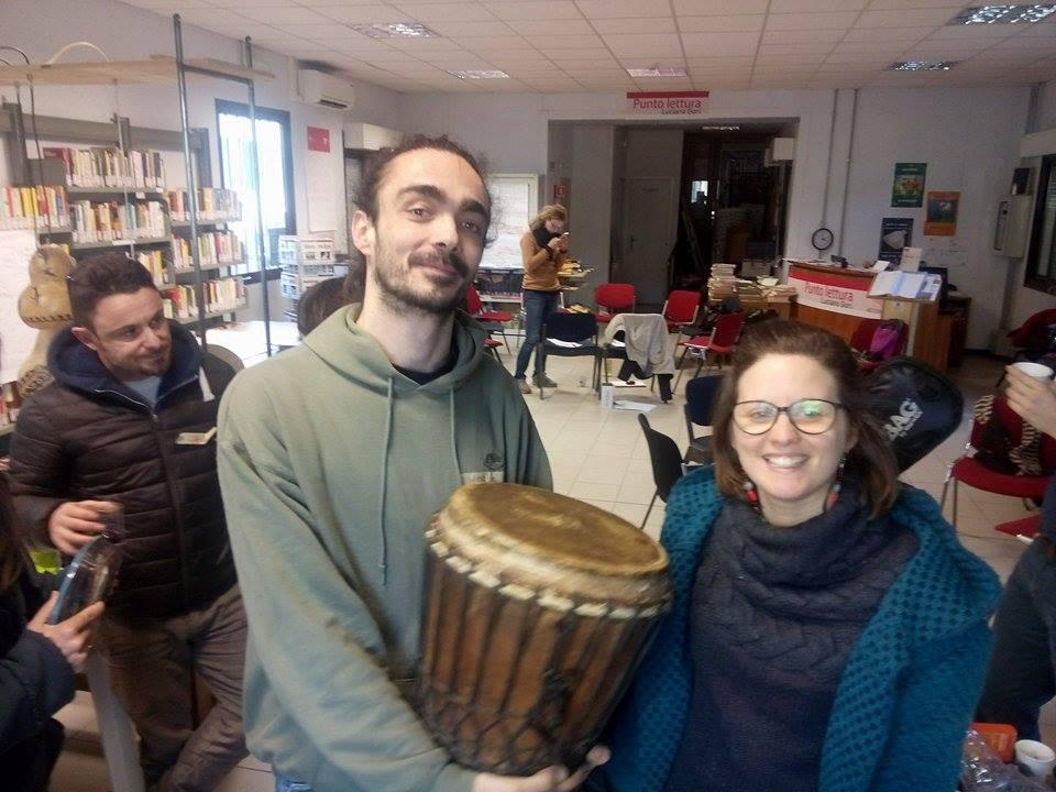 Martina e Moris, i Mantra Chanting