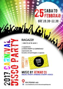 Carnival disco party