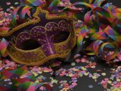 Carnival disco party mask