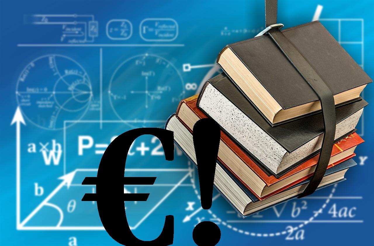 scuola libri soldi