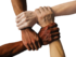 patti di collaborazione mano nella mano