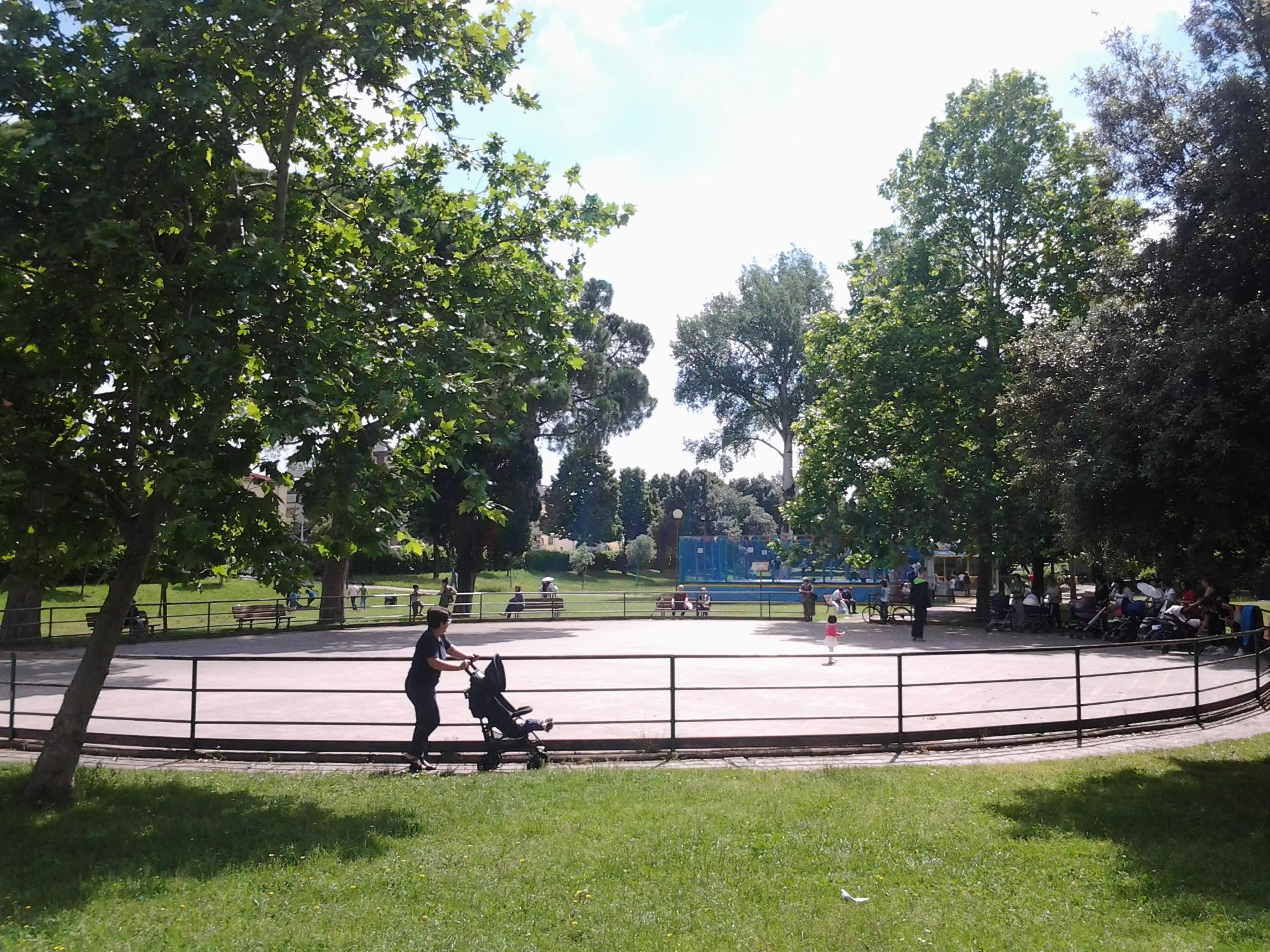 pista pattinaggio villa vogel