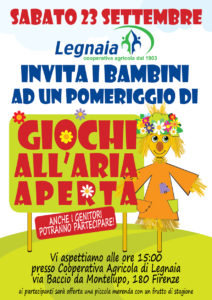 festa dei bambini cooperativa di legnaia 23 settembre