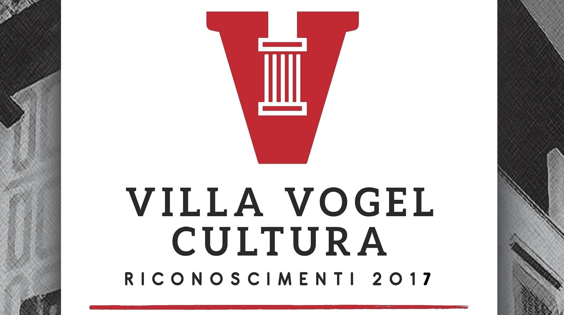 Premio Villa Vogel alla Cultura 2017
