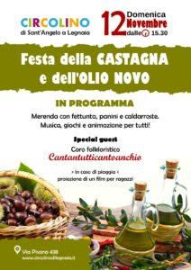 festa della castagna e dell'olio novo circolino Sant'Angelo a Legnaia