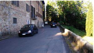 traffico pericolo pedoni via di San Carlo Bellosguardo (2)