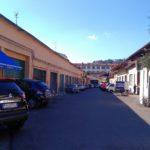 Via della Fonderia, le ex officine del Pignone dove fu costruito il  primo motore a scoppio della storia