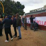 protesta casa pound firenze passerella isolotto (1)