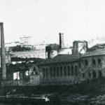 La vecchia fonderia del Pignon, oggi abbattuta per fare spazio ai giardini sul lungarno. La foto è gentilmente concessa daCarlo Alberto Manetti