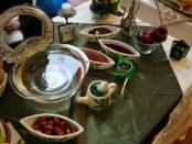 Dolcetti e specialità persiane offerte a tutti