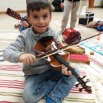 giovane violinista