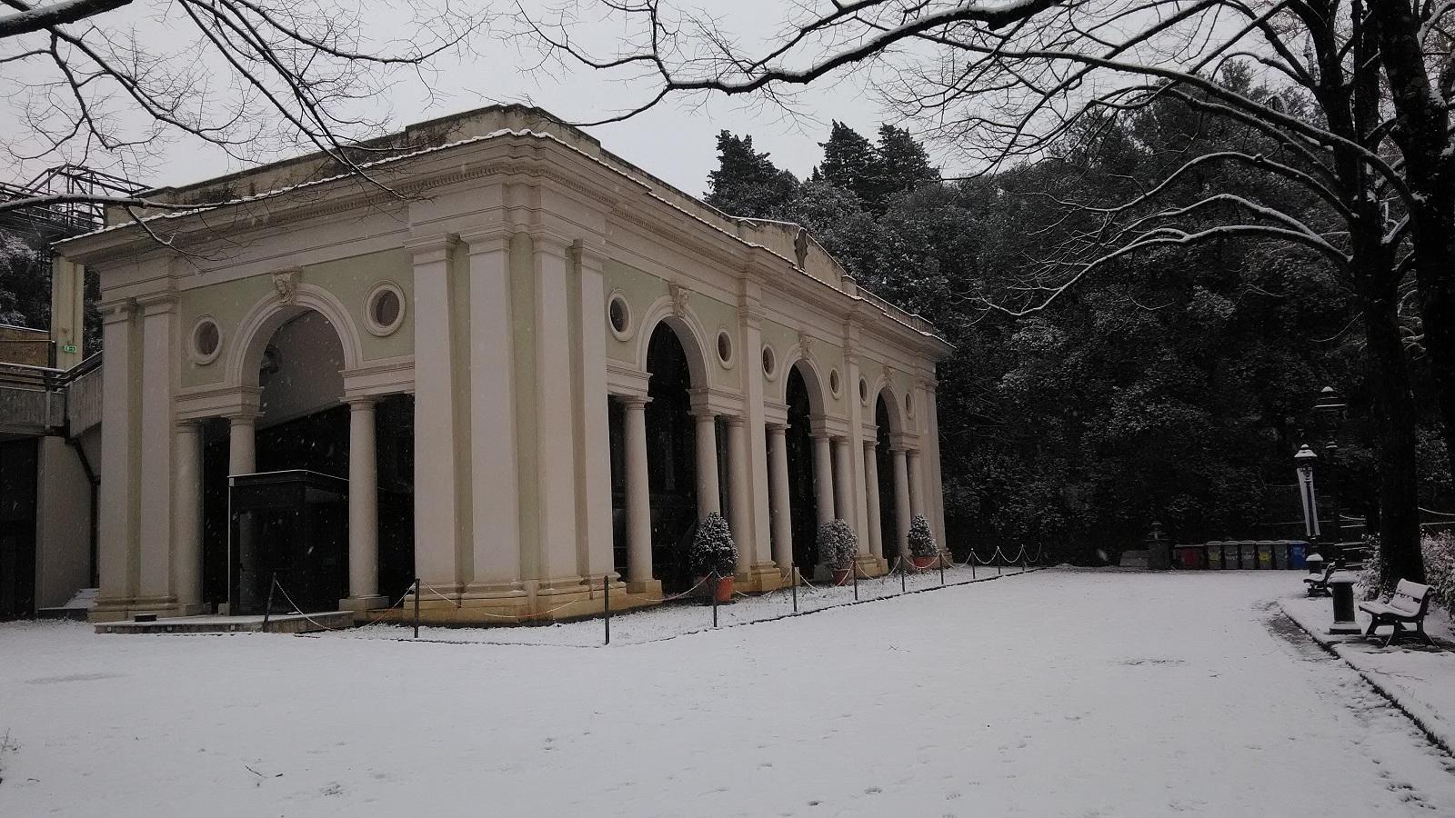limonia villa strozzi nevicata marzo 2018