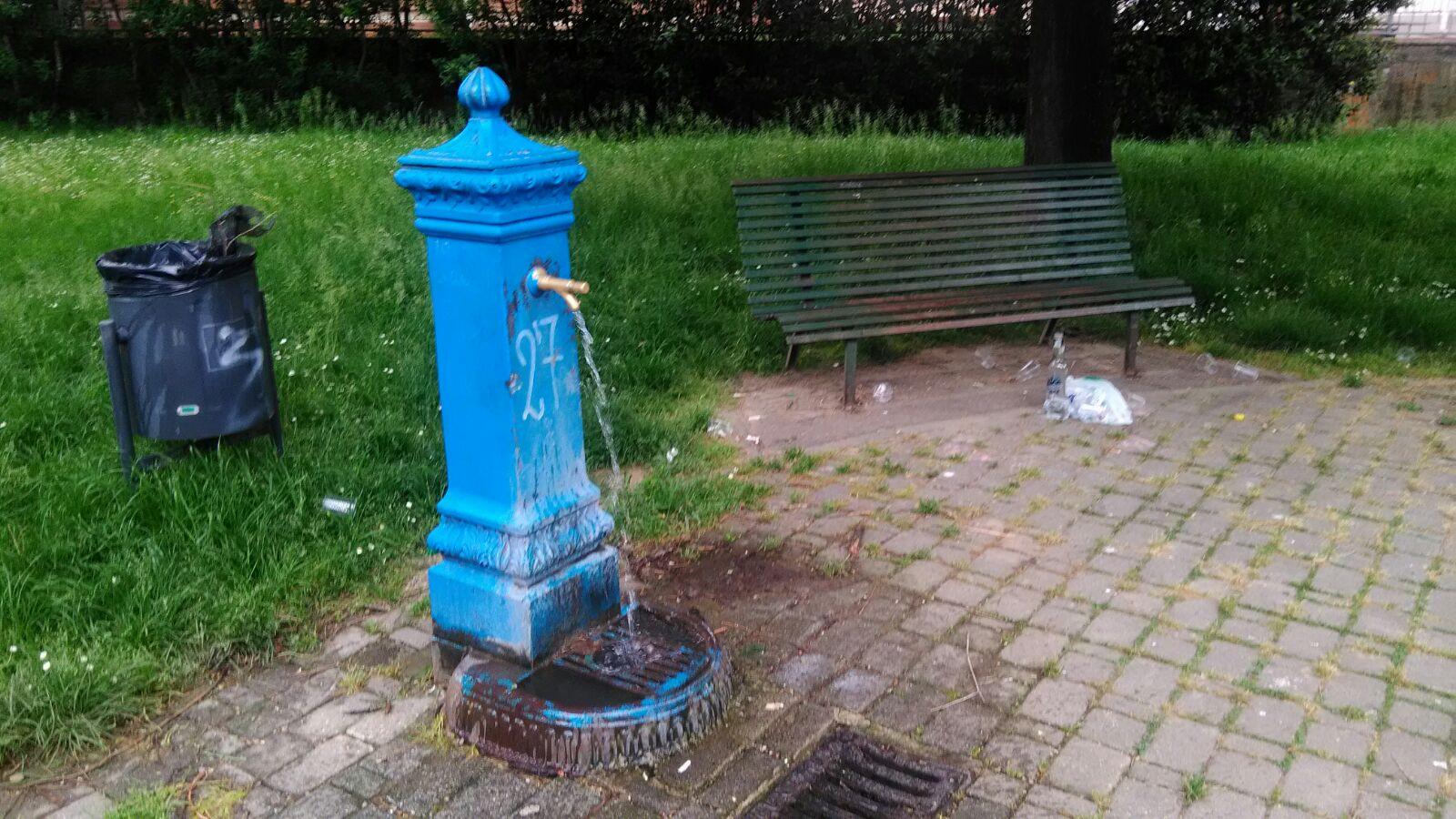 fontana via Pietro da Cortona