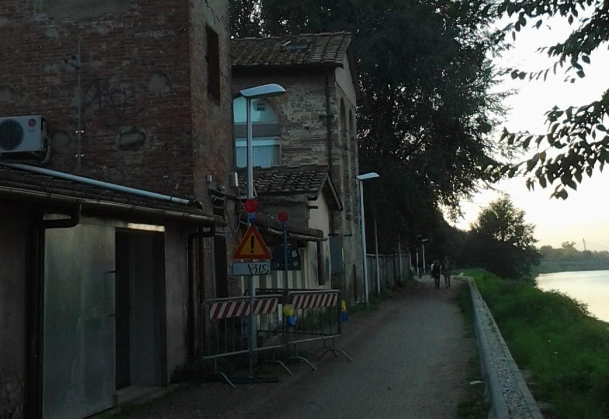 lungarno dei pioppi via Baccio Bandinelli