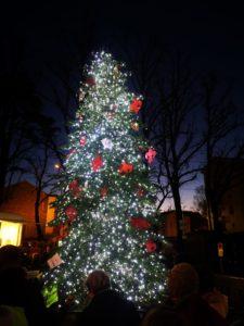 accensione albero piazza dell'Isolotto Natale 2018