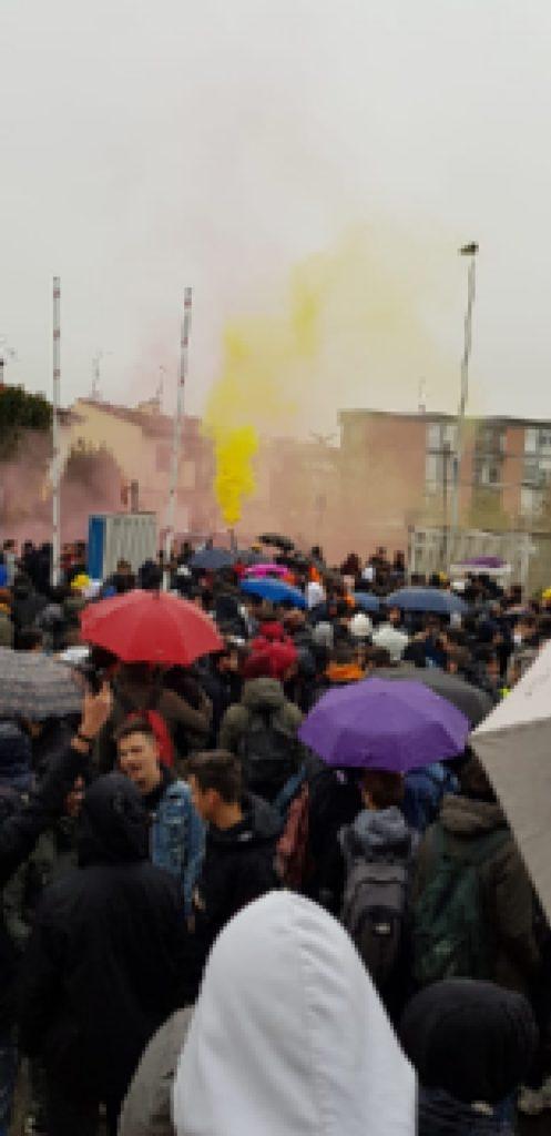 manifestazione protesta itis meucci (4)