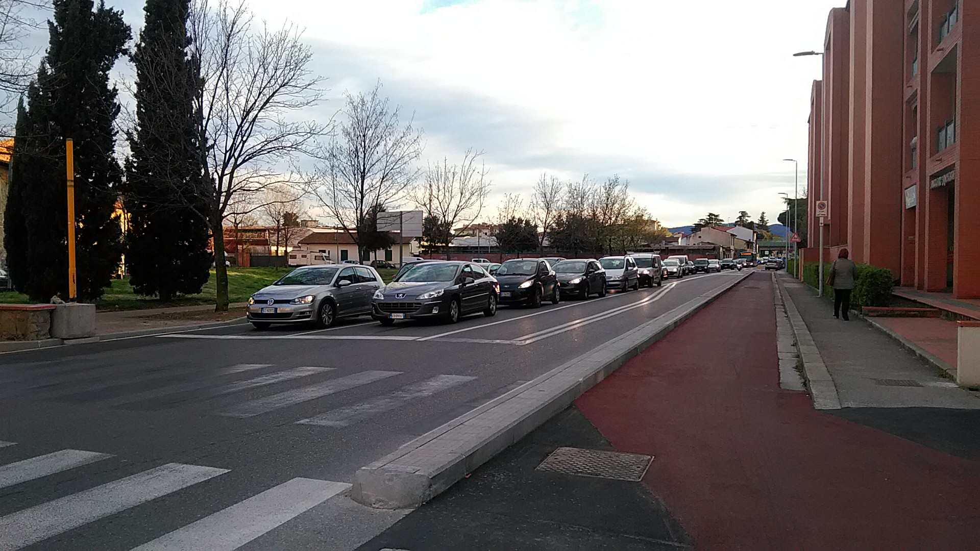 semaforo via sernesi sernesi via canova via pampaloni protesta (5)