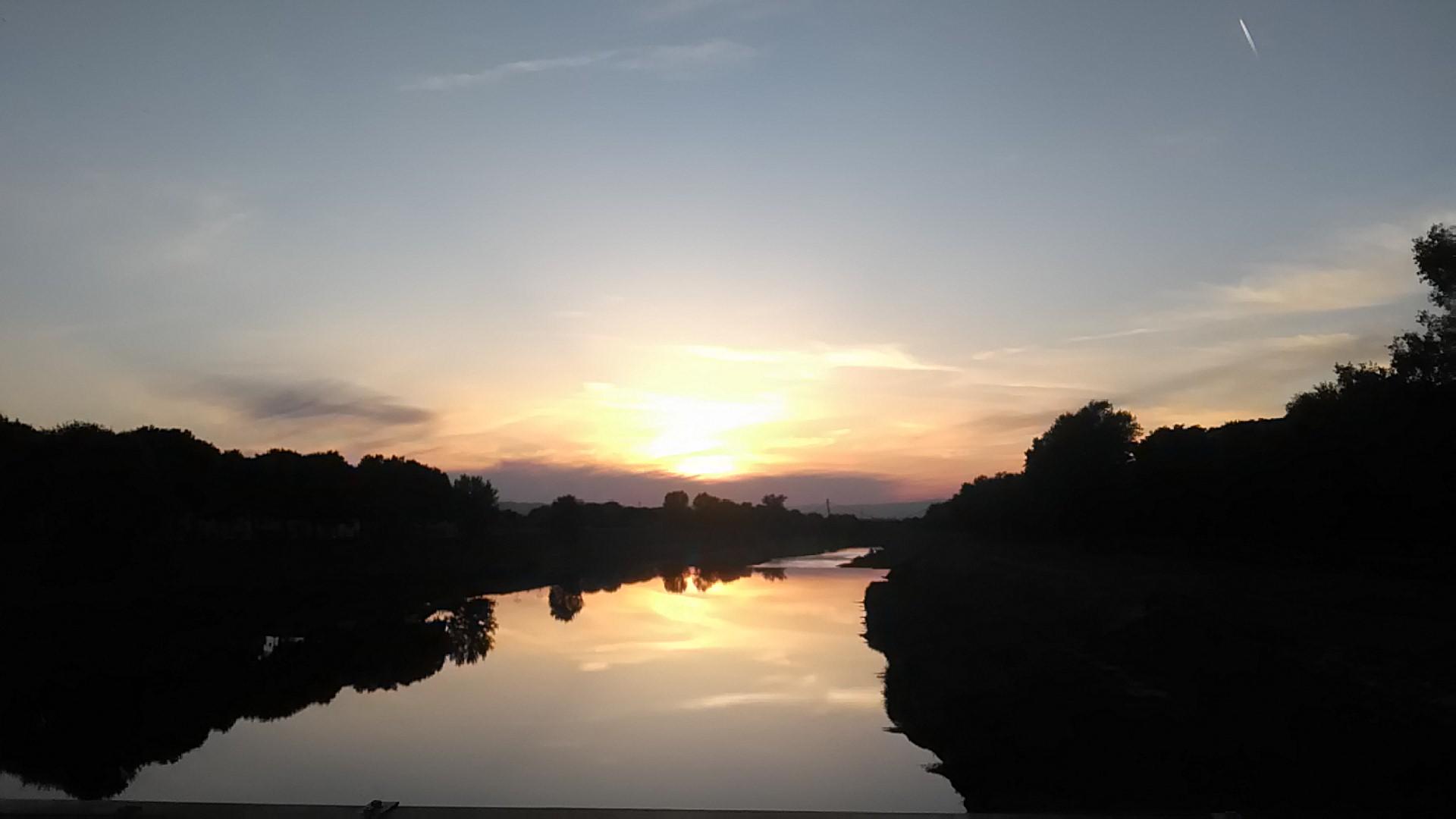 tramonto cascine