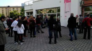 contromanifestazione Anpi baby gang giardini biblioteca isolotto (1)