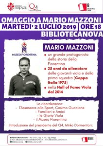 Omaggio a Mario Mazzoni - FIORENTINA (1)