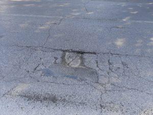 buca asfalto via pio fedi (1)