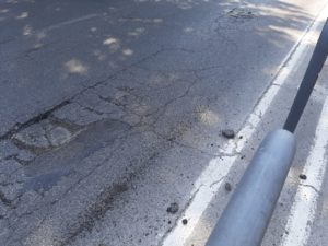 buca asfalto via pio fedi (4)