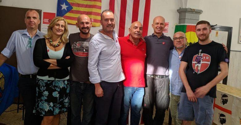 Il  Consiglio federale di Clt con alcuni attivisti - Foto d'Archivio