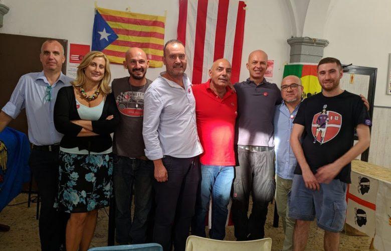 Il nuovo Consiglio federale di Clt con alcuni attivisti