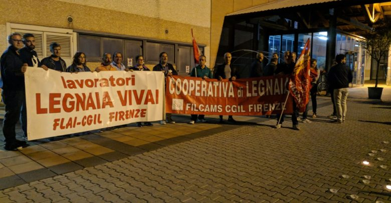 manifestzione lavoratori cooperativa di legnaia (8)