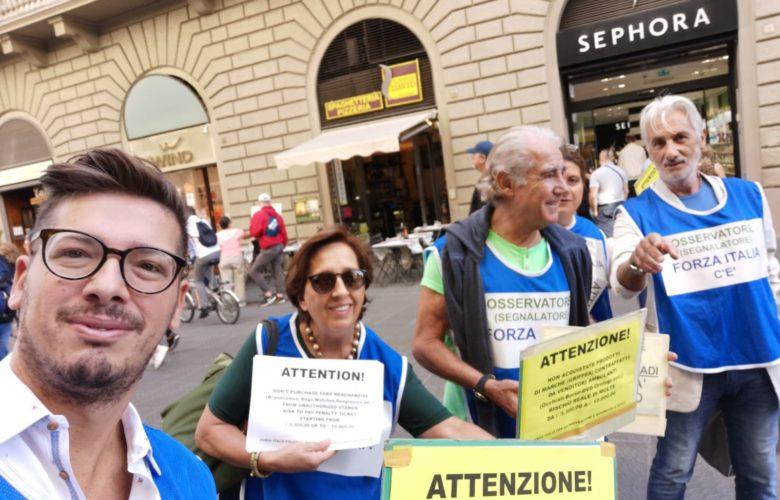 passeggiate per la sicurezza e legalità forza italia bisconti firenze (2)