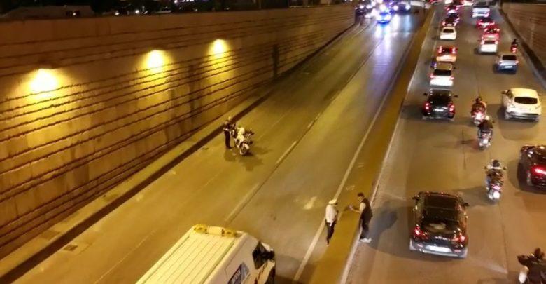 Bus perde olio ponte alla vittoria traffico in tilt