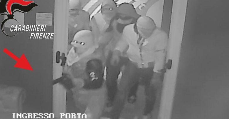 banda criminale spaccata sale slot