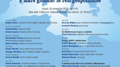 Mediterraneo, convegno 18.11.2019