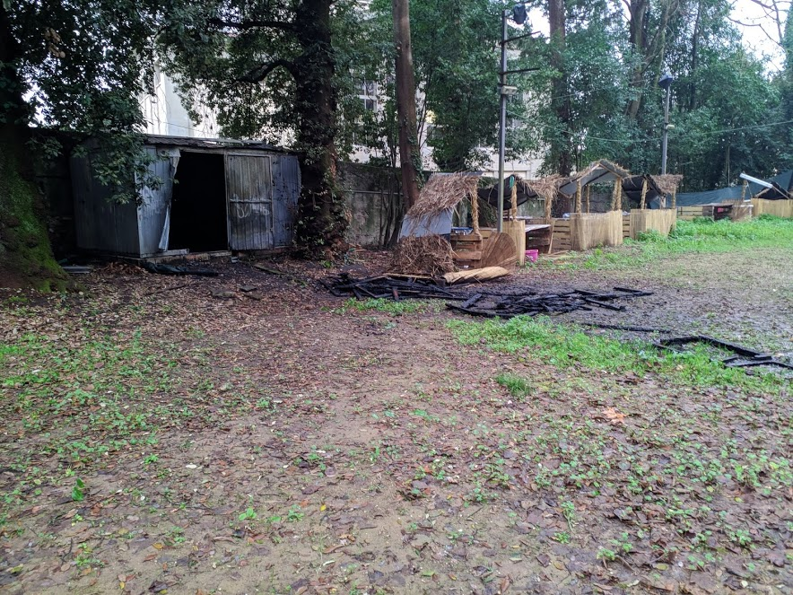 incendio baracca boschetto 2