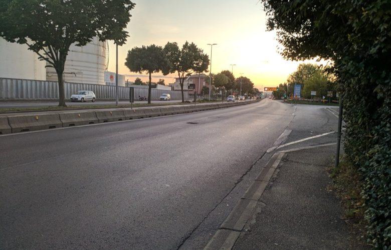 Viale Etruria, imbocco della Fi Pi Li, immagine d'archivio Isolottolegnaia.it
