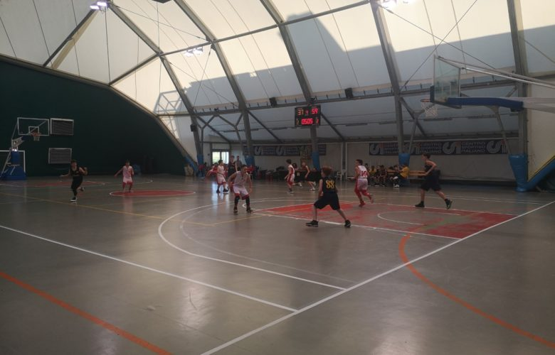 U13, sconfitta contro Olimpia Legnaia