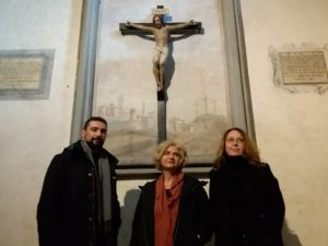 Gianluca Amato, Anna Floridia e Silvia Benzi