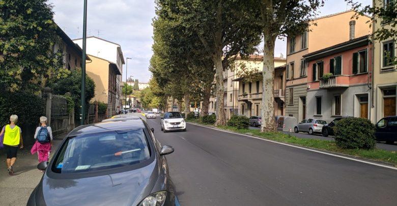 Viale Aleardi- viale Pratolini, immagine d'archivio