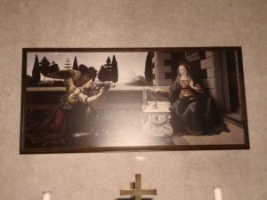 Annunciazione copia Chiesa San Bartolomeo