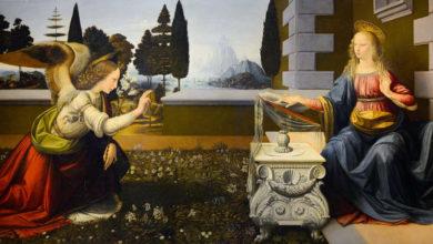Annunciazione di Leonardo Da Vinci