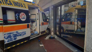 incidente ambulanza via pio fedi (1)