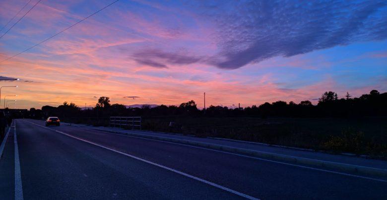 Foto d'archivio IsolottoLegnaia.it, tramonto su Mantignano
