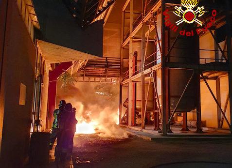 L'incendio che devastò la Silo