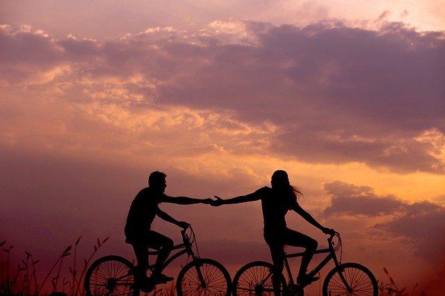 bicicletta solidarietà amore
