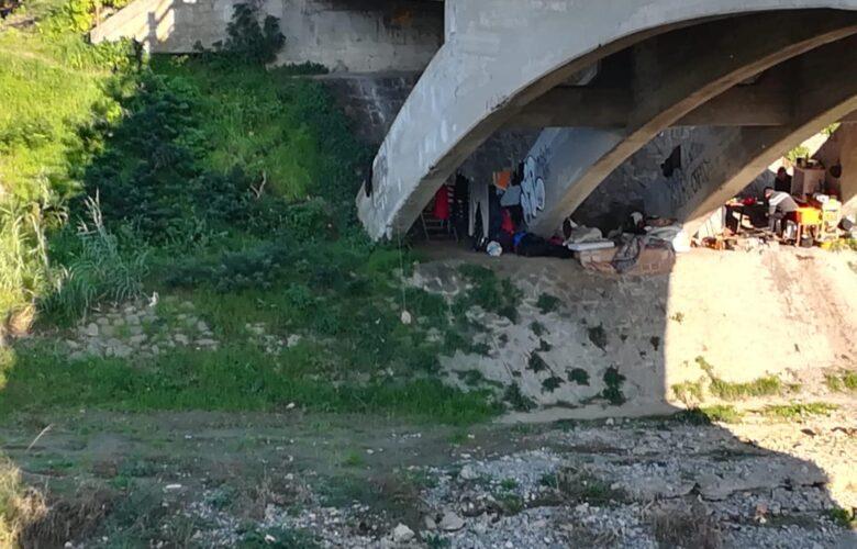 Il ponte sotto via Baccio da Montelupo