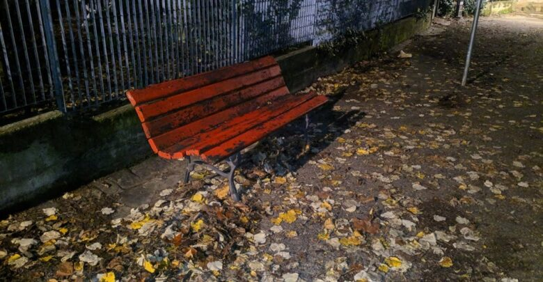 panchina rossa boschetto (2)
