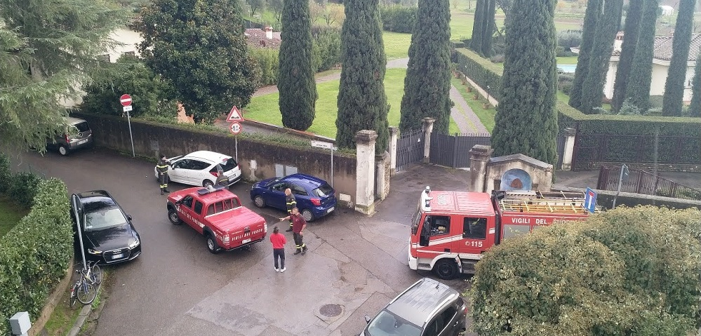 vigili del fuoco via di San Vito