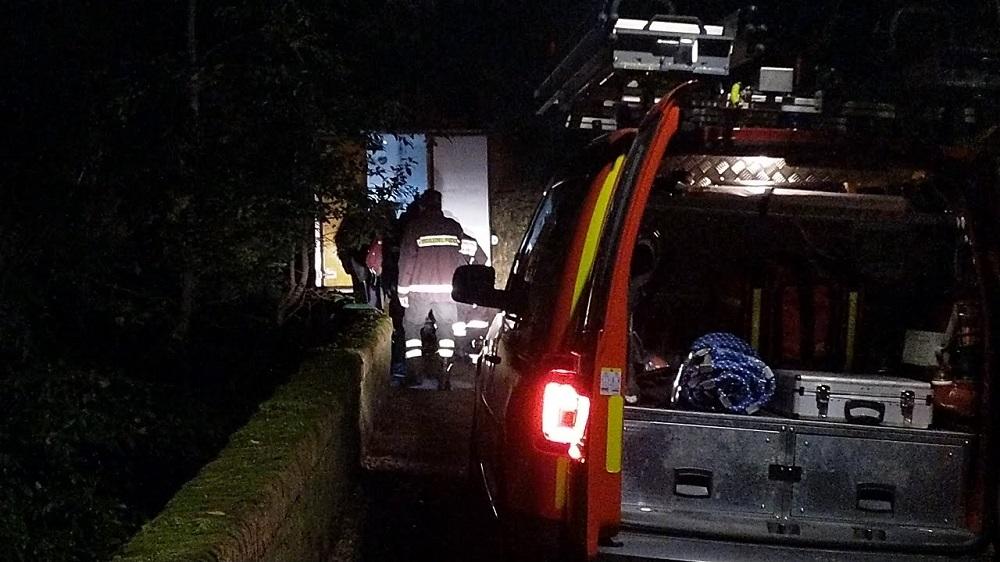 vigili del fuoco furgone via monte oliveto (3)