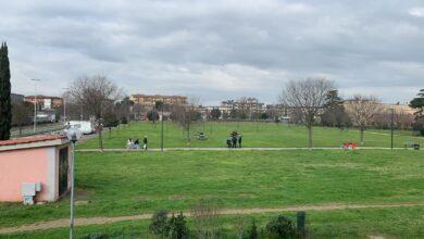 Il  Campone, l'area verde dove si ipotizza la costruzione della chiesa di San Lorenzo a Greve